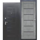 Входная дверь Доминанта серебро Царга