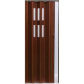 Межкомнатная раздвижная дверь гармошка Pioneer Glass