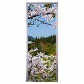 Стеклянная межкомнатная дверь Flowers