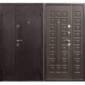 Входная дверь Йошкар двухстворчатая ( Полимер/МДФ/Венге)
