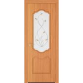 Межкомнатная дверь из ПВХ МДФ  ПО Орхидея